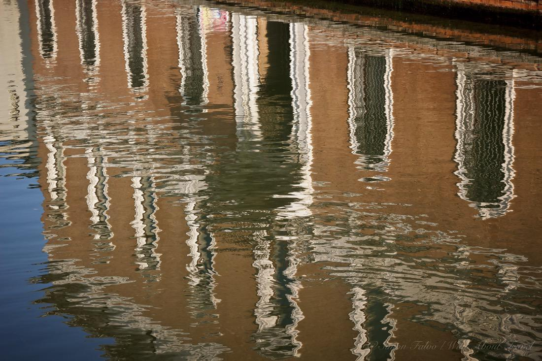 Comacchio, Upside Down in the Canal