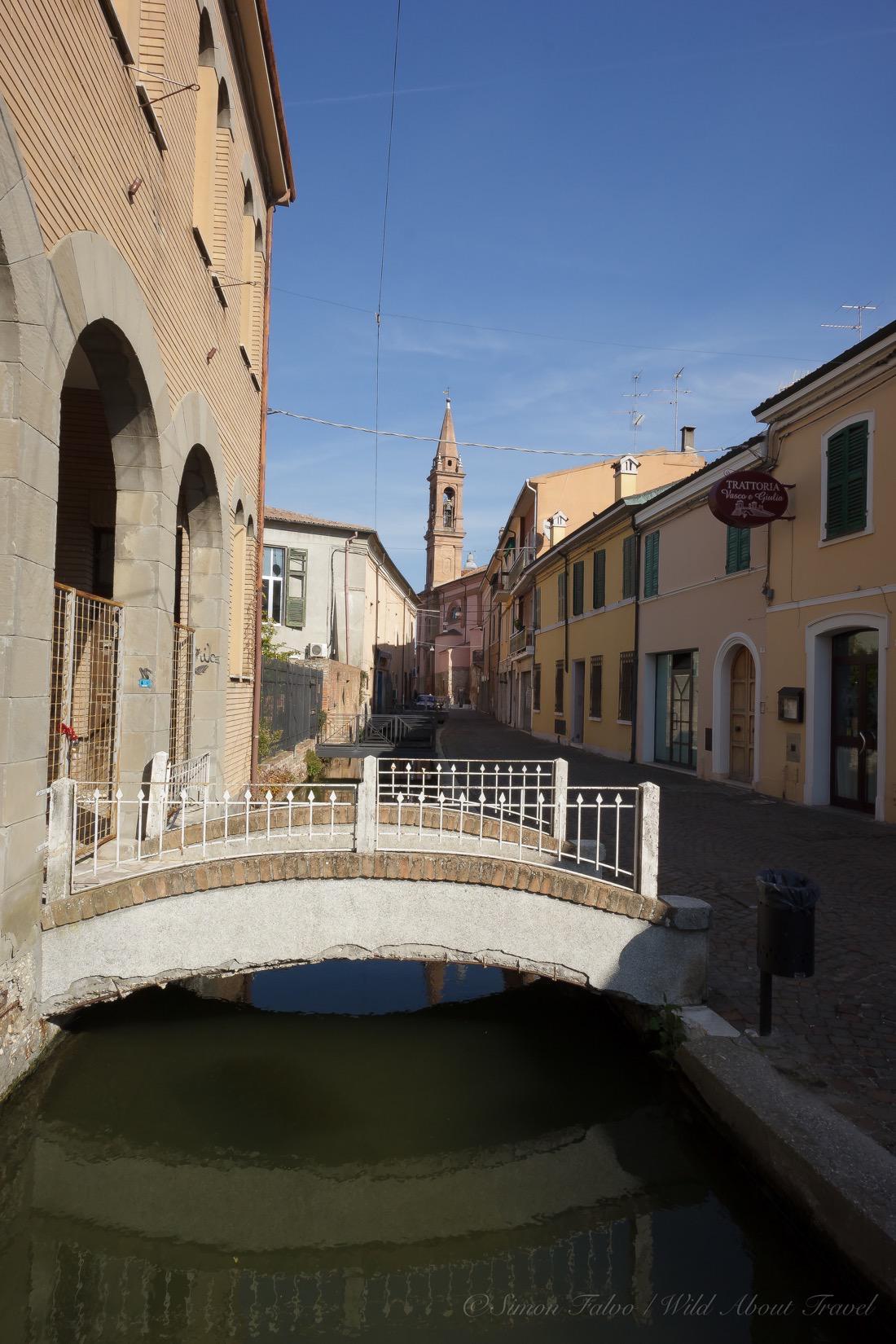 Little Bridge in Comacchio