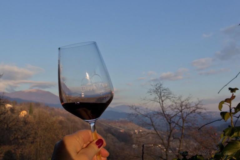 A Glass of Moscato di Scanzo