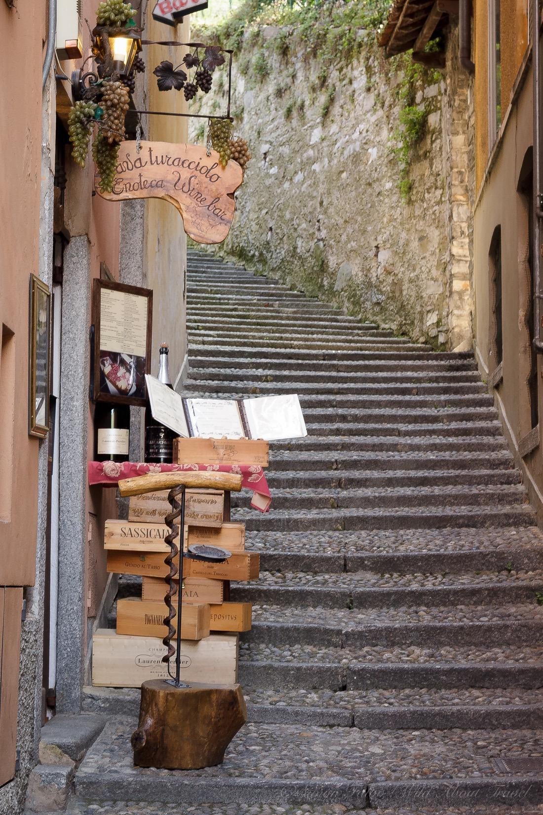 Italy, Bellagio Stairs