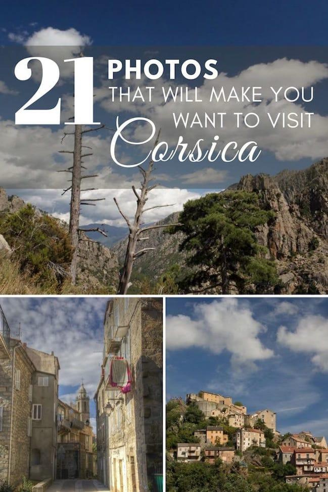 Beautiful Corsica in Photos