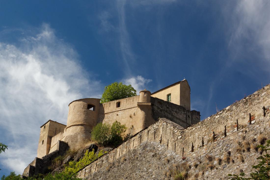 Corsica - Corte Castle