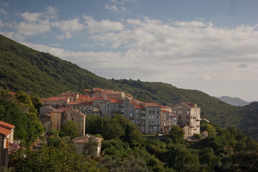 Corsica Hilltop Town