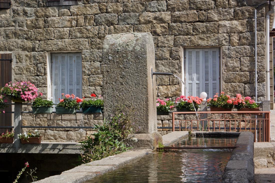 Corsica Stone House