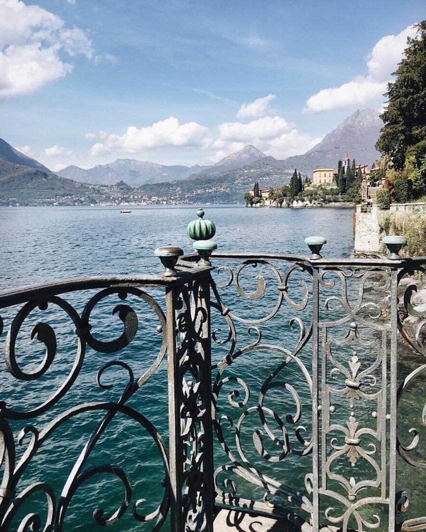 Lake Como from Varenna