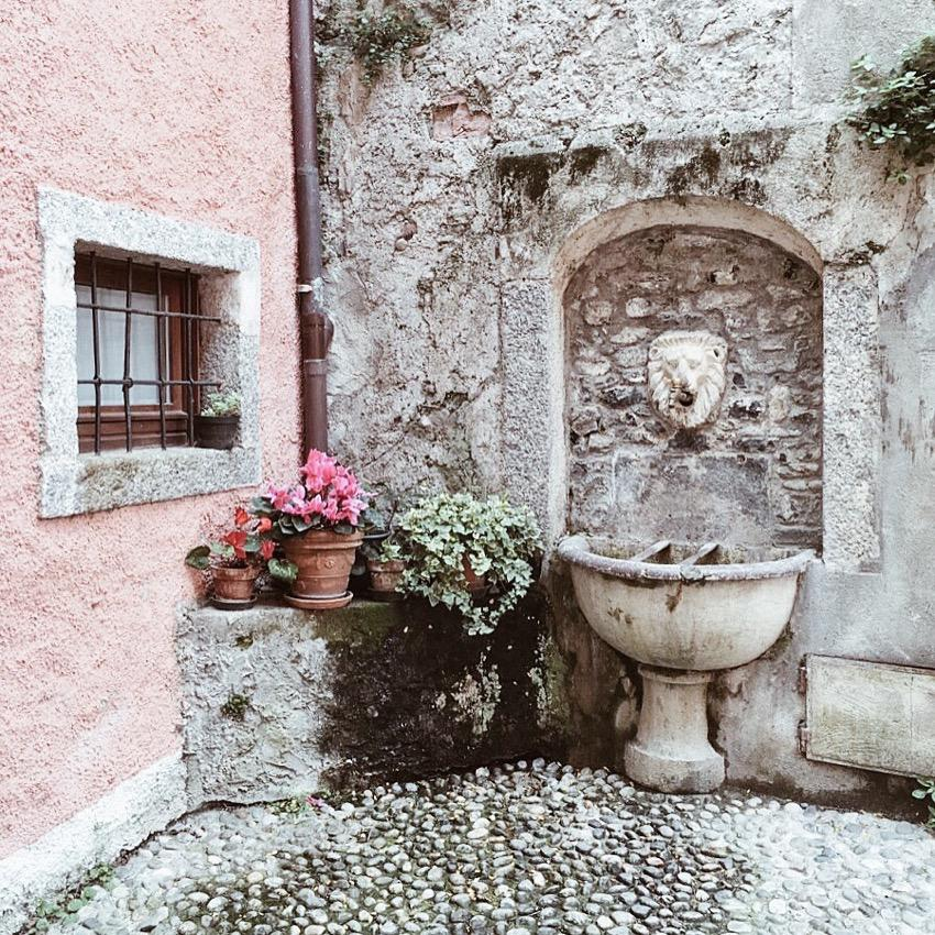 Old Fountain in Bellagio