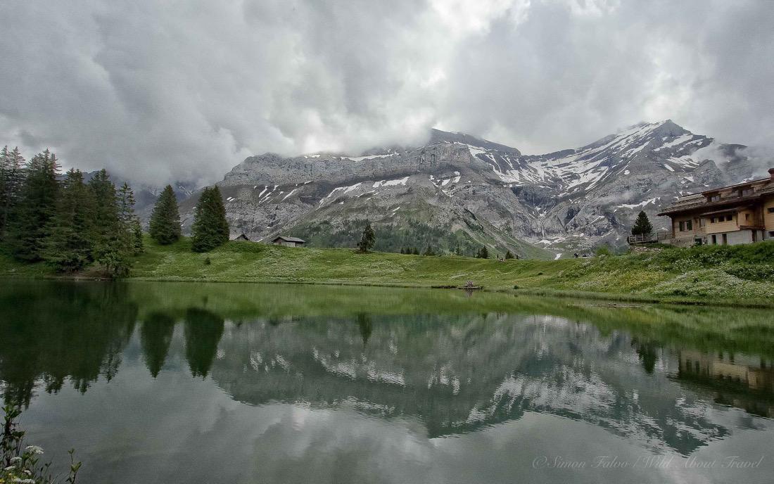 Switzerland - Lake Retaud Wallpaper [1920x1200]