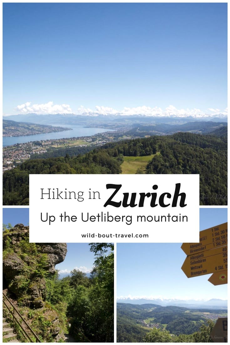 Hiking in Zurich up the Uetliberg mountainHiking in Zurich up the Uetliberg mountain (2)