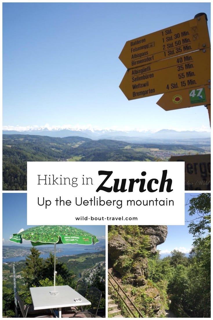 Hiking in Zurich up the Uetliberg mountain