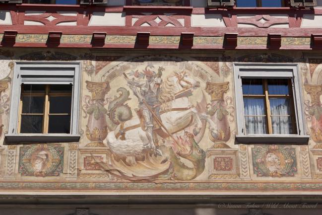 Stein am Rhein, Decorated Facades