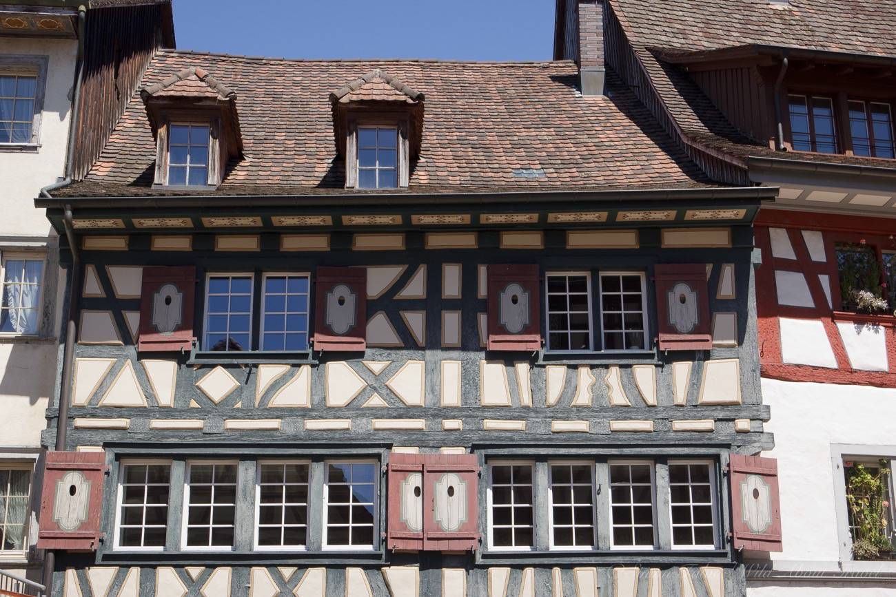 Half-timbered Old Houses
