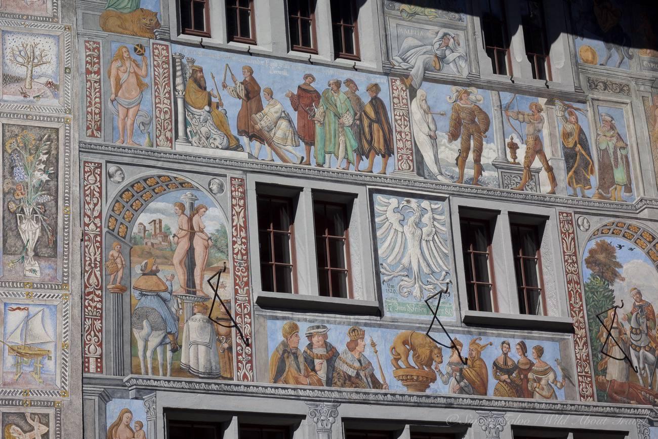 Stein am Rhein Painted Houses