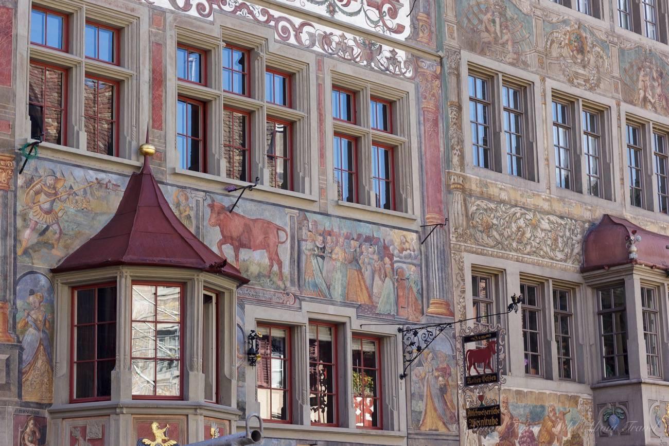 Stein am Rhein, Painted Houses