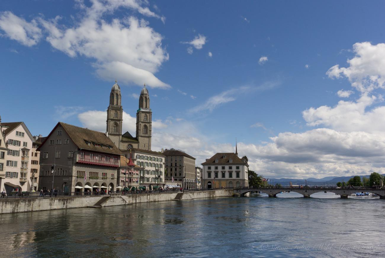 Zurich, Along the Limmat