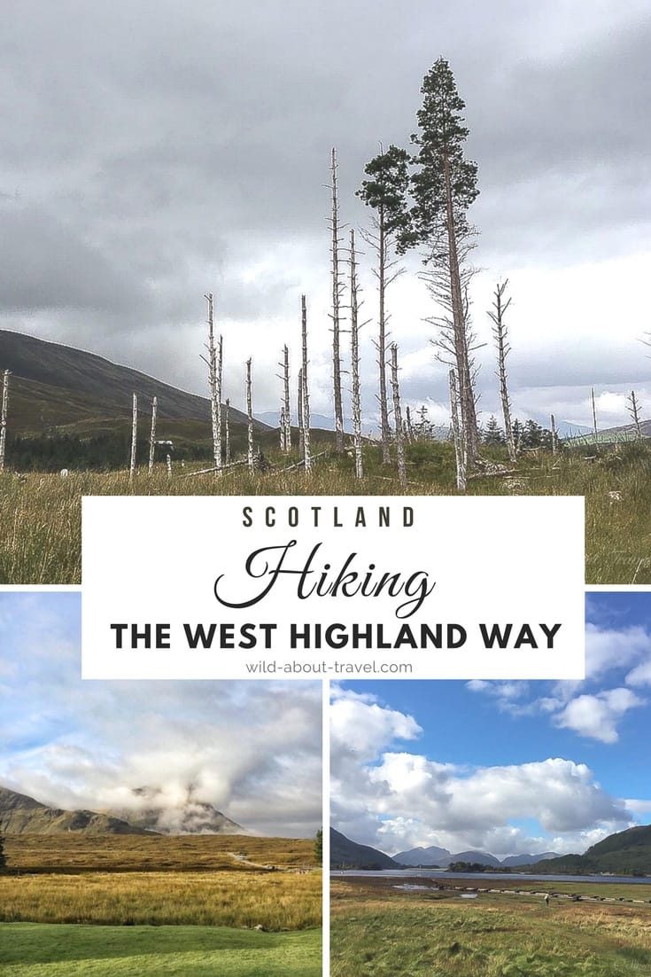 Scotland Hiking the West Highland Way
