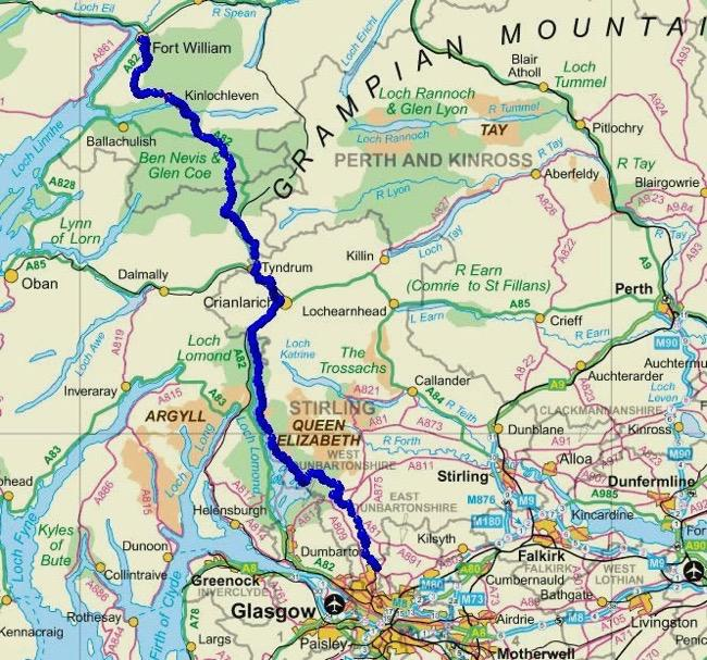 west-highland-way-map