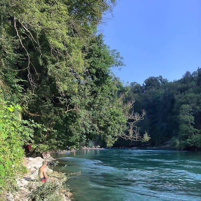 Bern River Aar