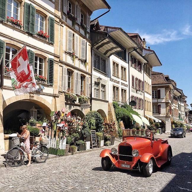 Murten-Old-Town