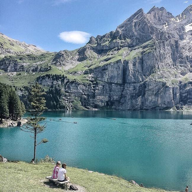 Oeschinensee-Switzerland