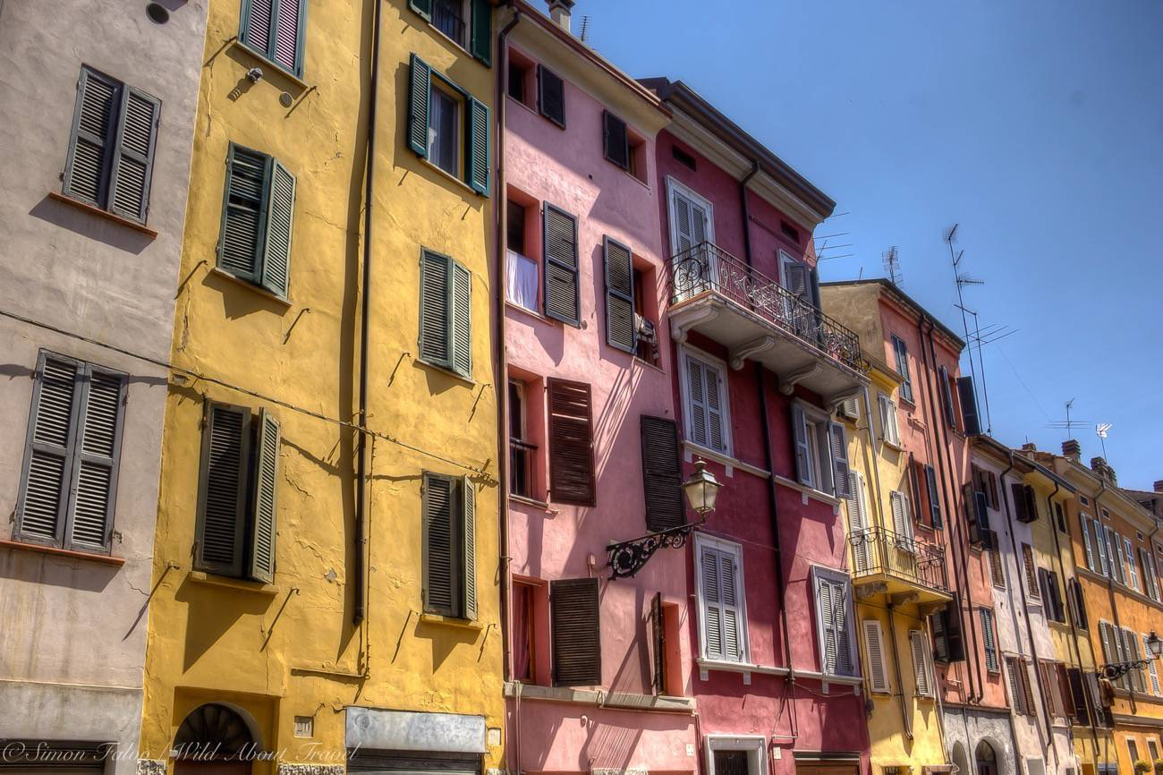 Parma Colored Facades