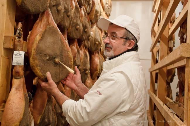 Parma Ham Tasting Process