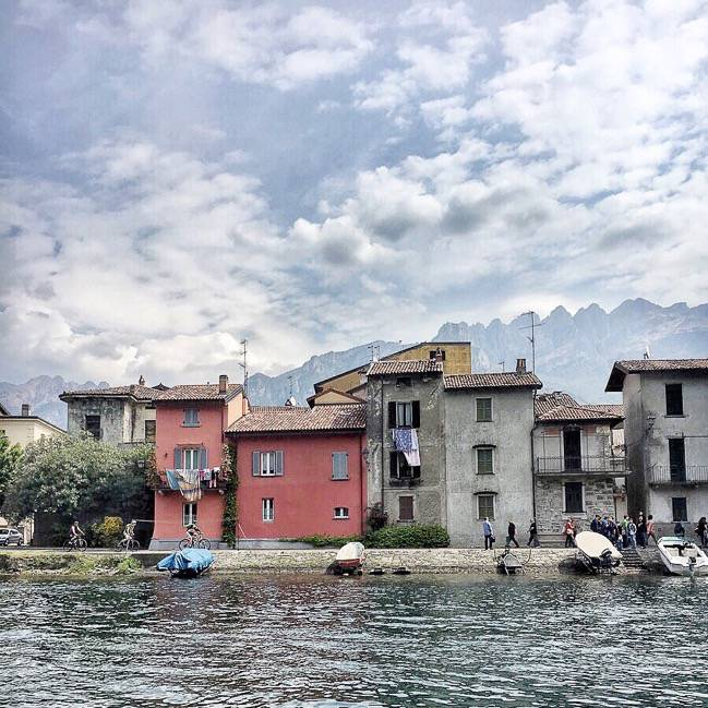 Pescarenico on Lake Lecco