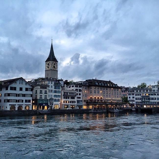 Zurich Blue Hour