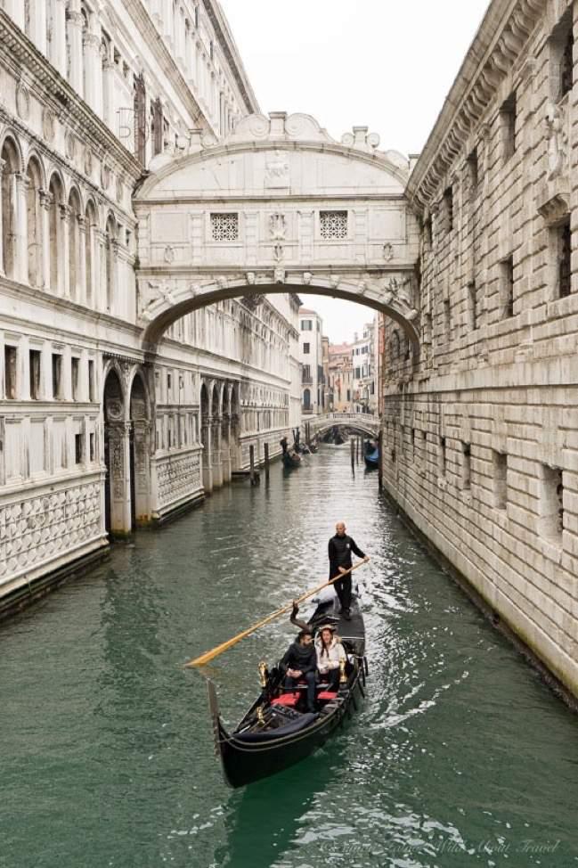 Gondola and the Bridge of Sighs