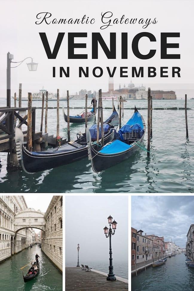 November in Venice