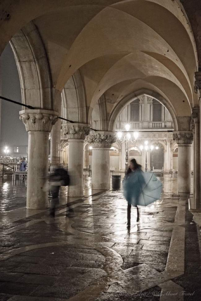 Rainy Night in Venice