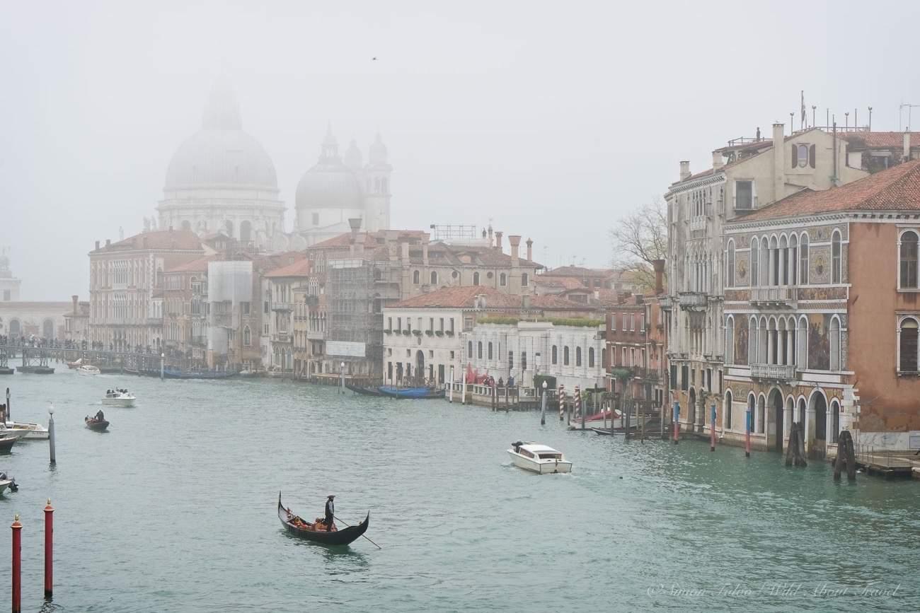 Venice Canal Grande in November