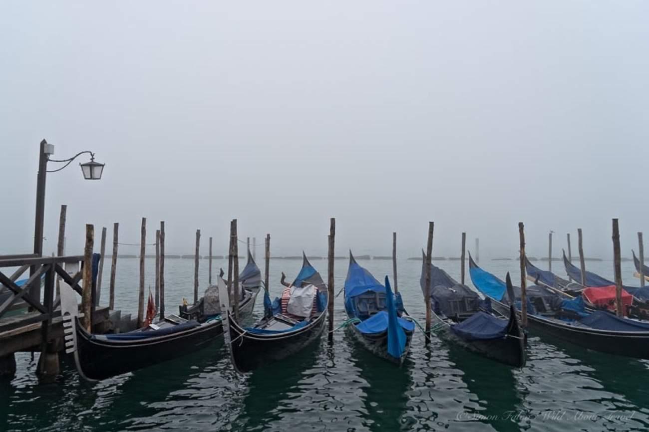 Venice - Gondolas in the Fog