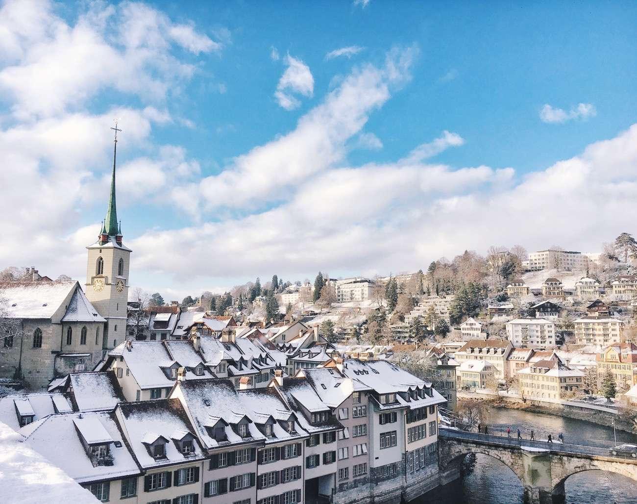 Bern Snow Capped