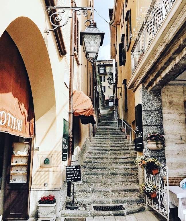 Italy - Bellagio Alleys
