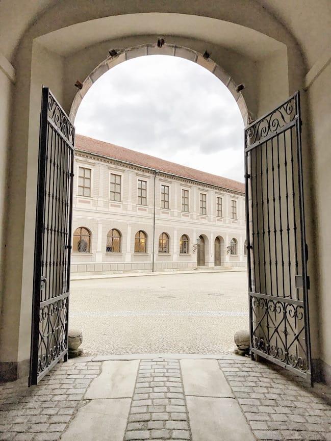 Munich Residenz Courtyard