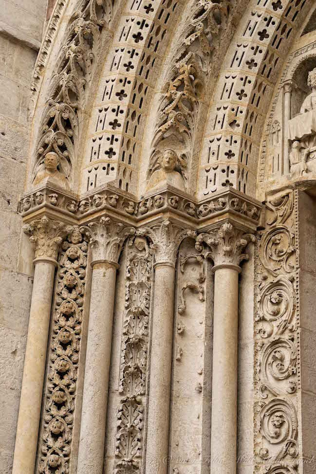 Rouen Cathedral Sculptures