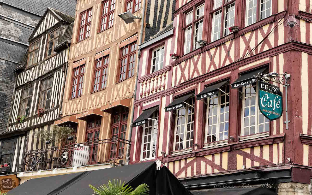 Rouen Half-Timbered Houses