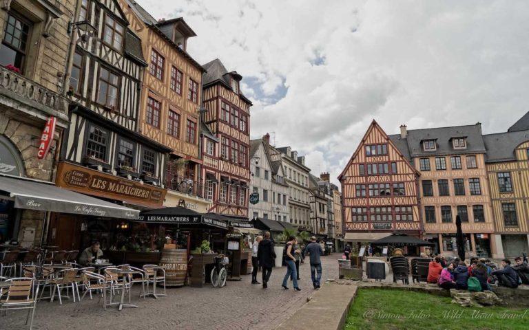 Rouen Place du Vieux Marché