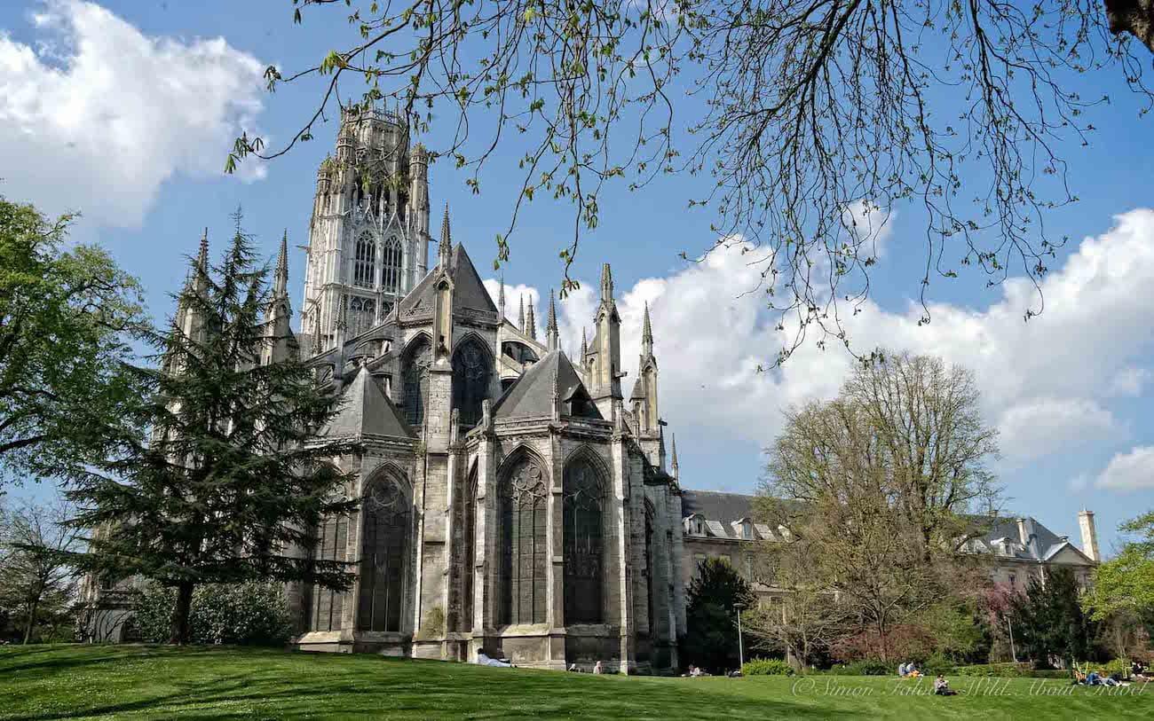 Rouen Saint-Ouen Abbey