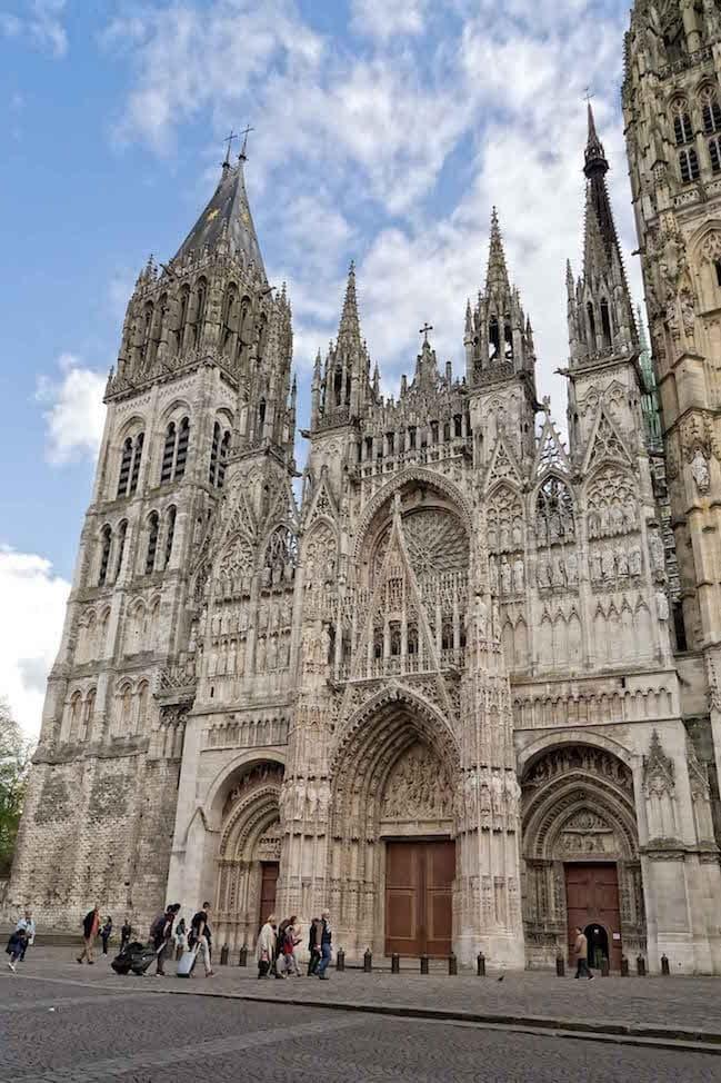 Rouen Cathedral Facade