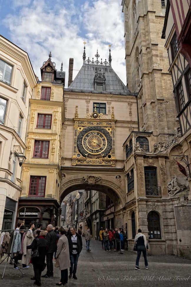 Rouen Tour du Gros Horloge