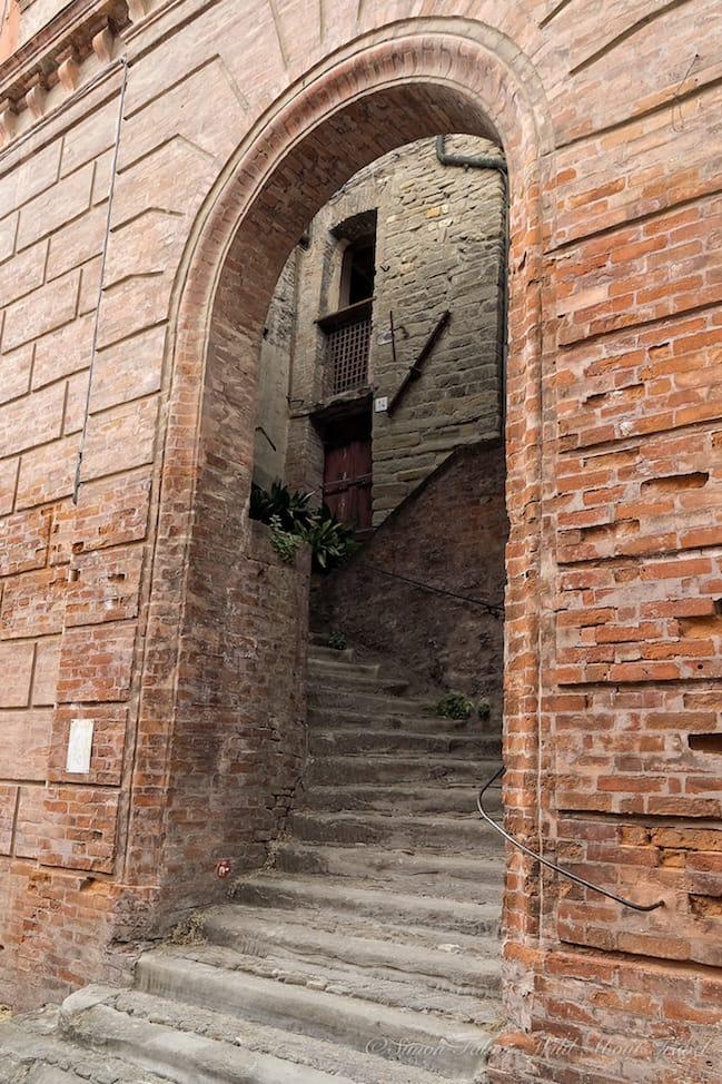 Brisighella Entrance Donkeys Alley