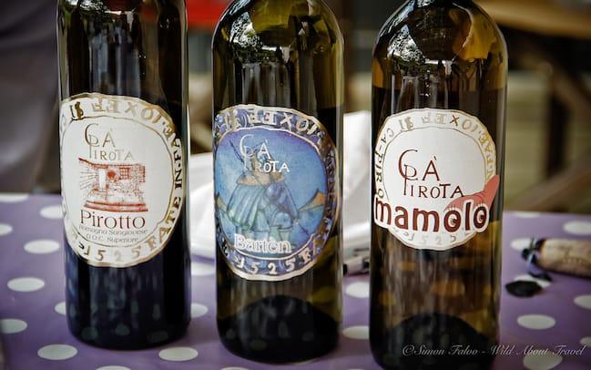 Wine Tasting in Brisighella
