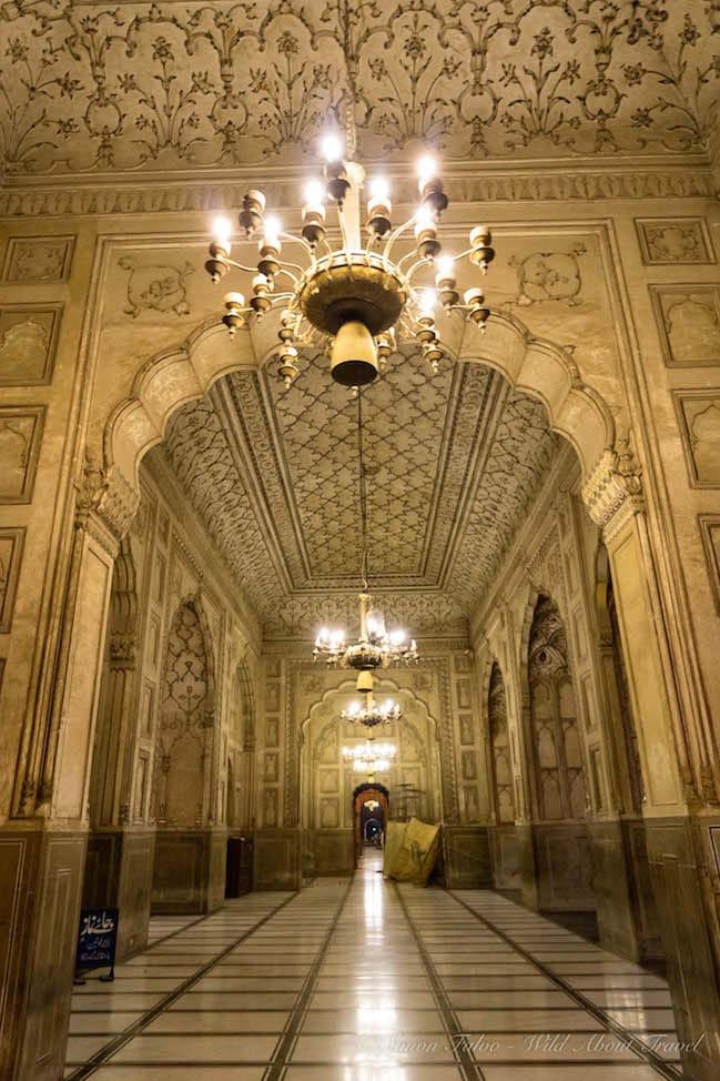 Lahore Badshahi Mosque Interior