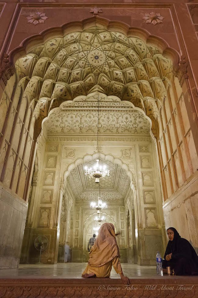Lahore Inside Badshahi Mosque
