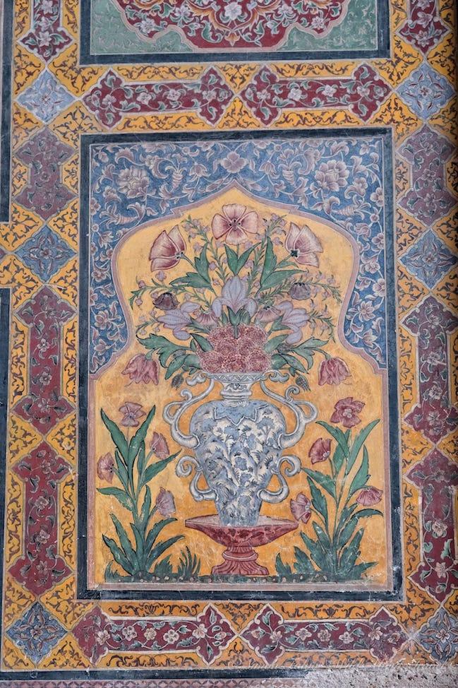 Wazir Khan Mosque Interior