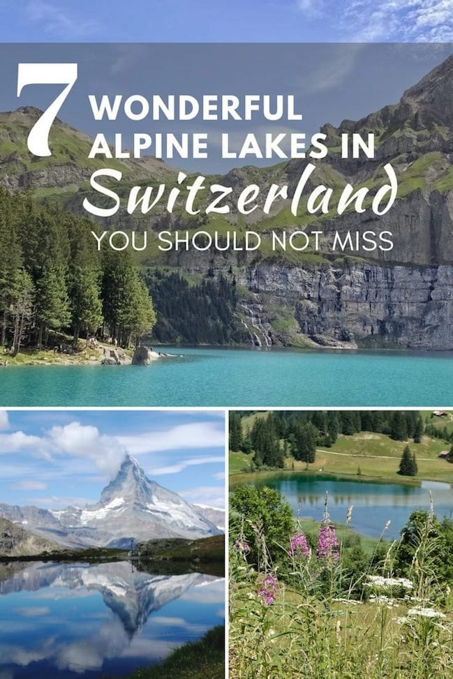 7 Wonderful Alpine Lakes in Switzerland [2]