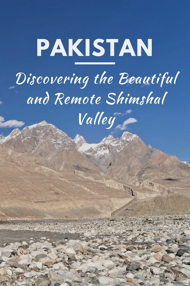 Discovering the Beautiful and Remote Shimshal Valley [2]