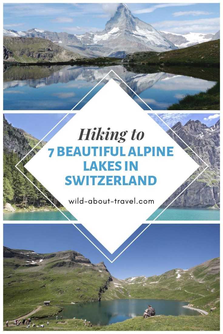 Hiking to 7 Beautiful Alpine Lakes in Switzerland