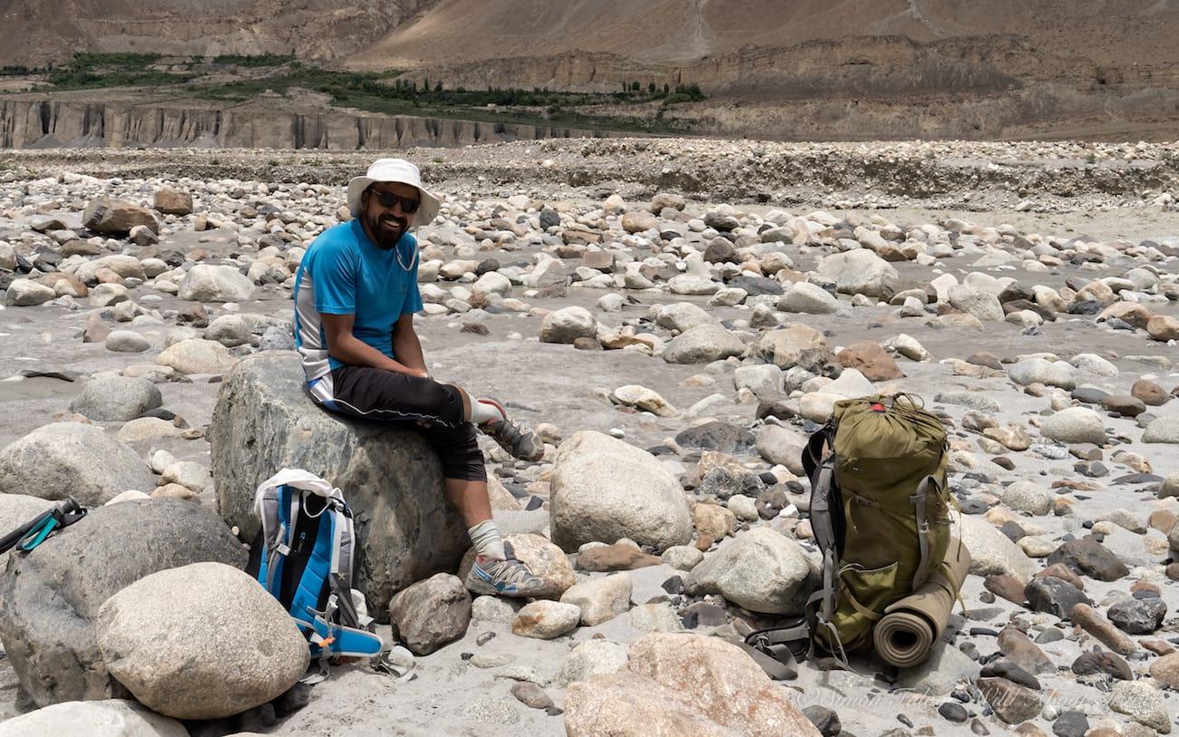 My Guide in Shimshal, Arshad Karim
